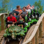 Roar-O-Saurus Train Front
