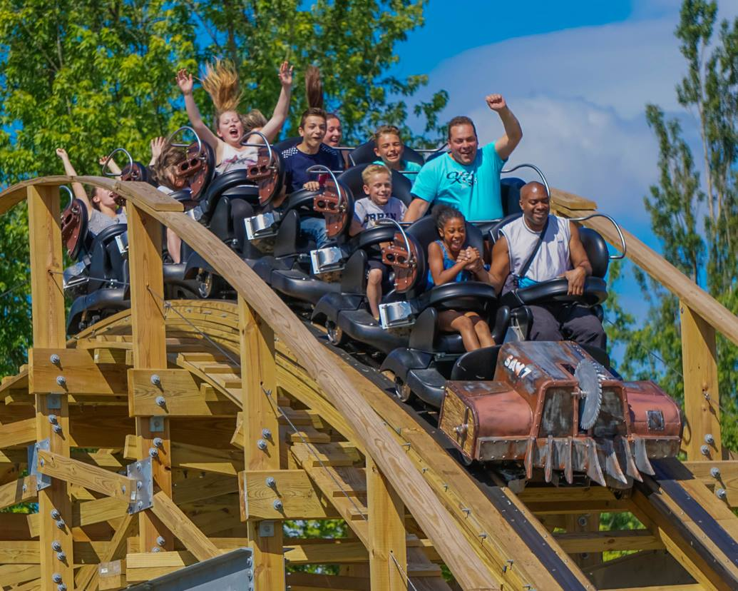 Timberliner Trains For The Modern Wooden Coaster The